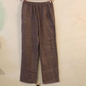 Bella Amore Italy 100% Linen Pant